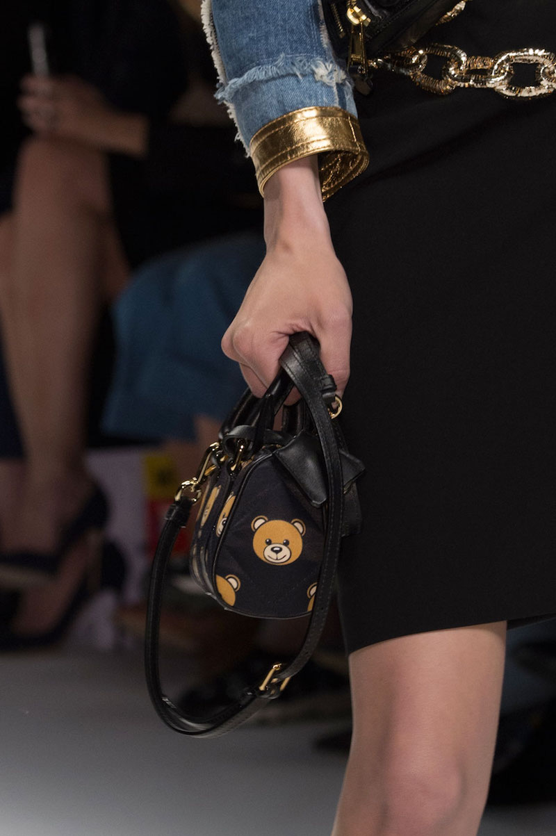 Moschino Mini Teddy Bear Shoulder Bag
