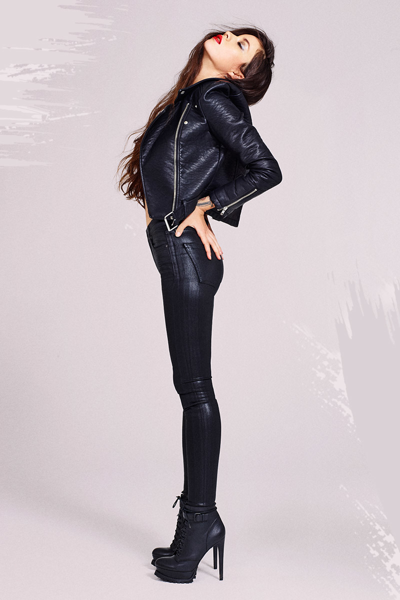 Nasty Gal Atomic Vegan Leather Jacket