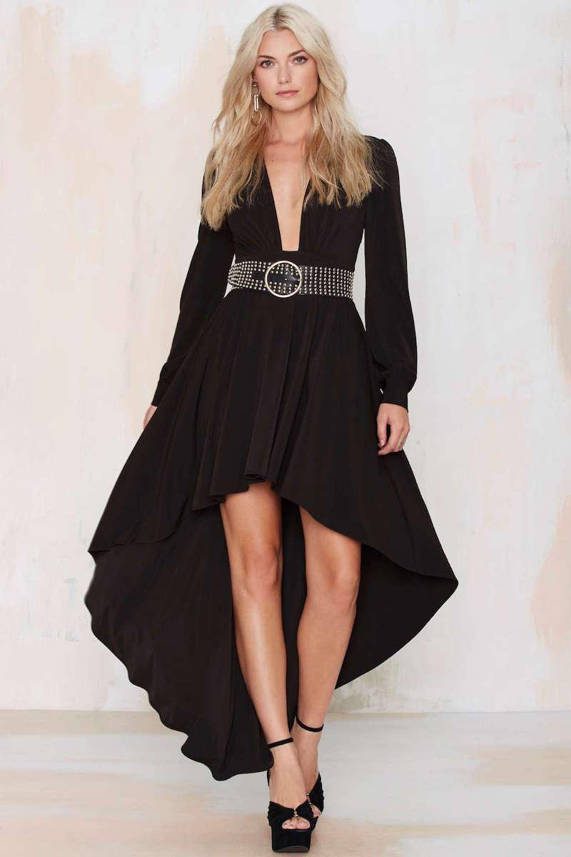 Nasty Gal Flying High Asymmetric Dress