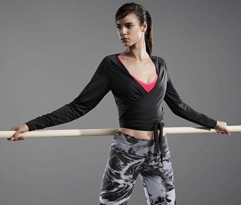 Nike Ballet Wrap Top
