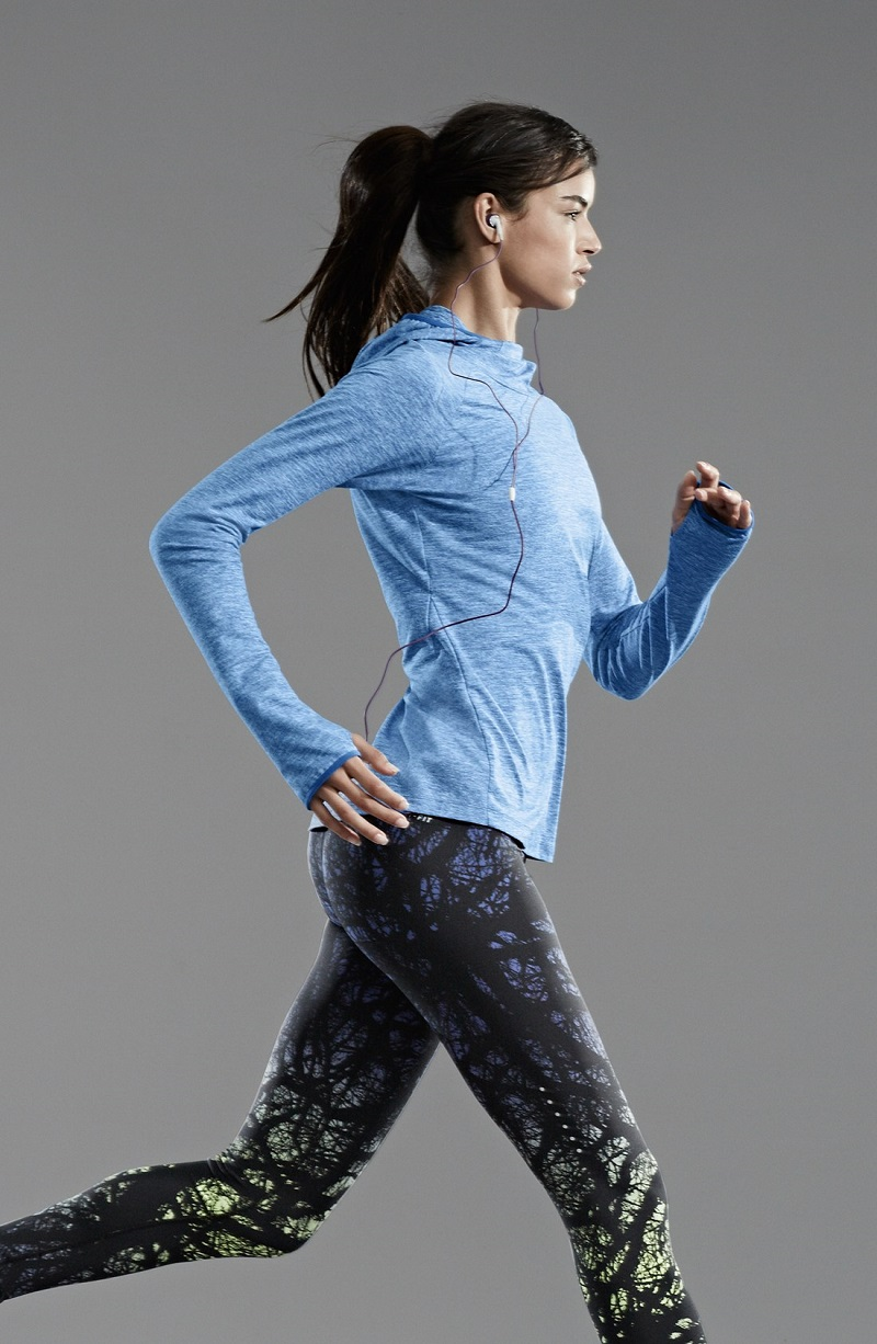 Nike Dri-FIT Print Running Tights