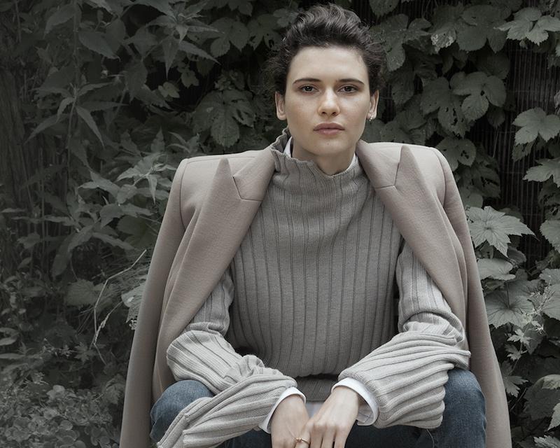 Nina Ricci Single-breasted Double-faced Longline Coat