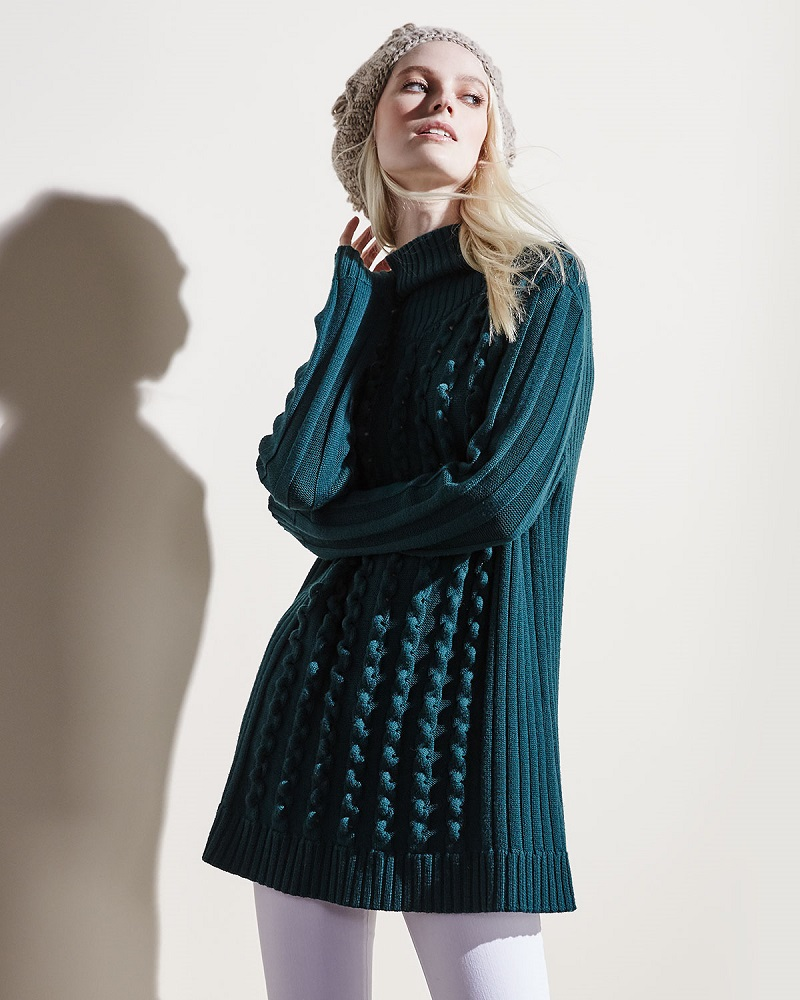 Opening Ceremony Chain-Stitch Oversized Sweater