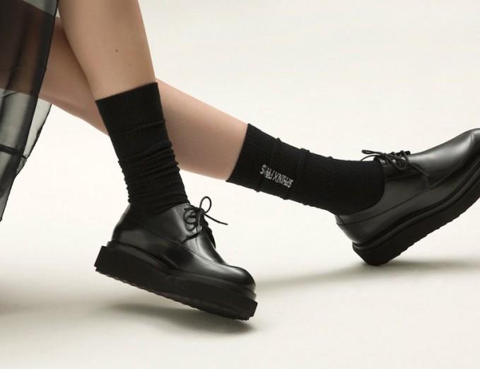 Pierre Hardy Black Leather Billy Platform Derbys_1