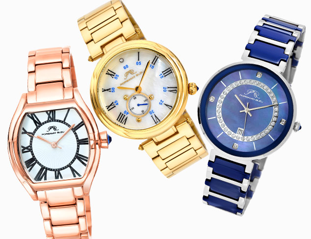 Porsamo Bleu Watches at MYHABIT
