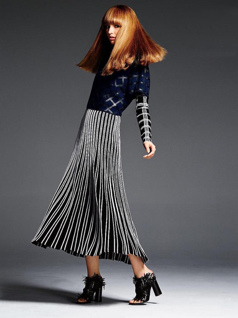 Proenza Schouler Pleated Knit Skirt