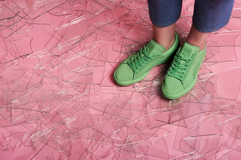 Puma Solange Suede Classic Geo Sneakers-2