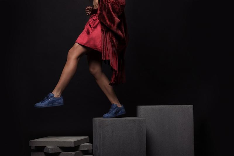 Puma Solange Suede Classic Squares Sneakers-1