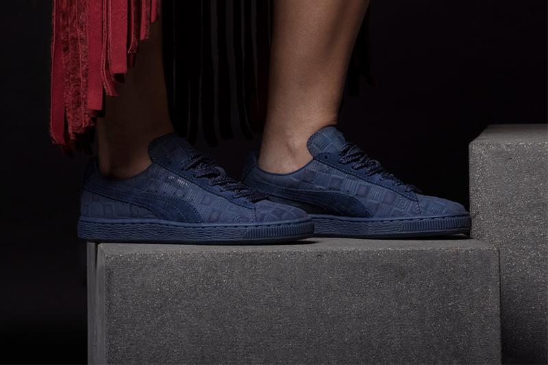 Puma Solange Suede Classic Squares Sneakers