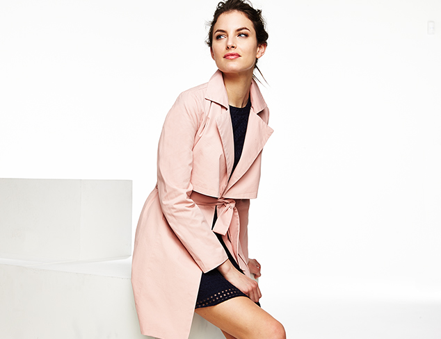 Quilted Coats, Windbreakers & More at MYHABIT