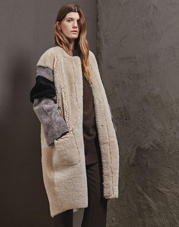 Raey Reversible shearling coat