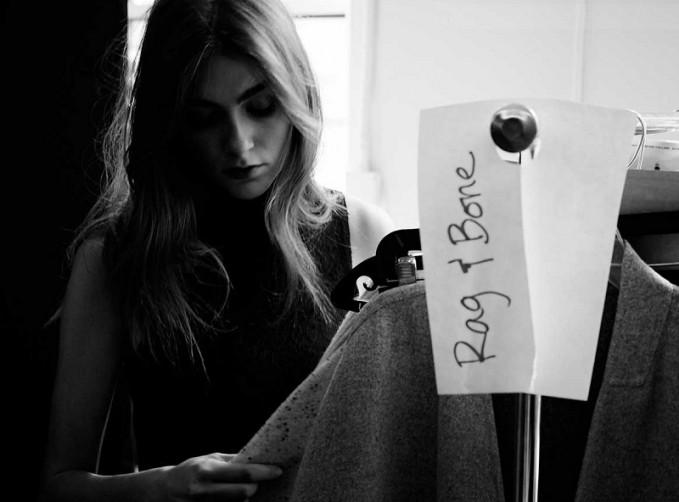 Rag & Bone Carolyn Sleeveless Lace Turtleneck Dress-