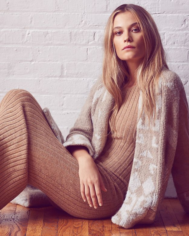 Ronny Kobo EXCLUSIVE Varvara Long Rib Dress