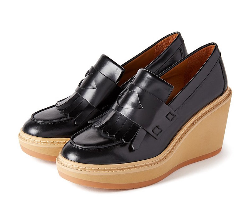 See by Chloe Heart Wedge Loafers
