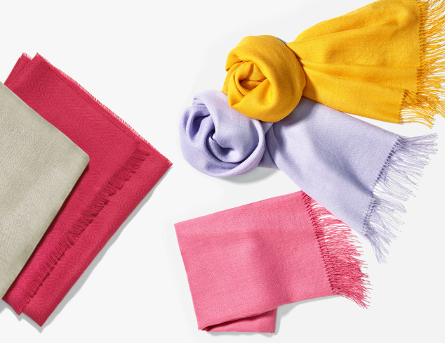 Simply Solid Scarves & Wraps at MYHABIT