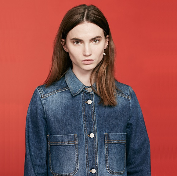 Stella McCartney Willow button-down denim dress