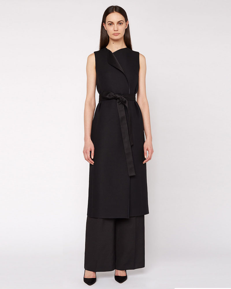 THE ROW Effie Sleeveless Vest Coat