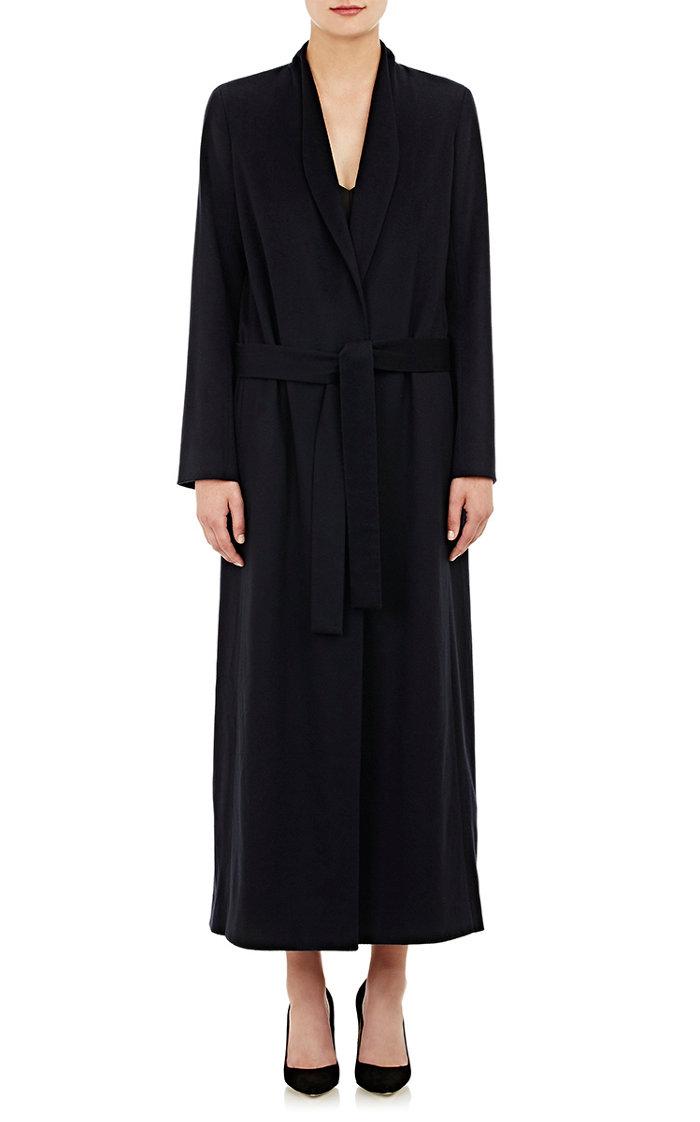 The Row Cashmere Melton Daulton Long Coat
