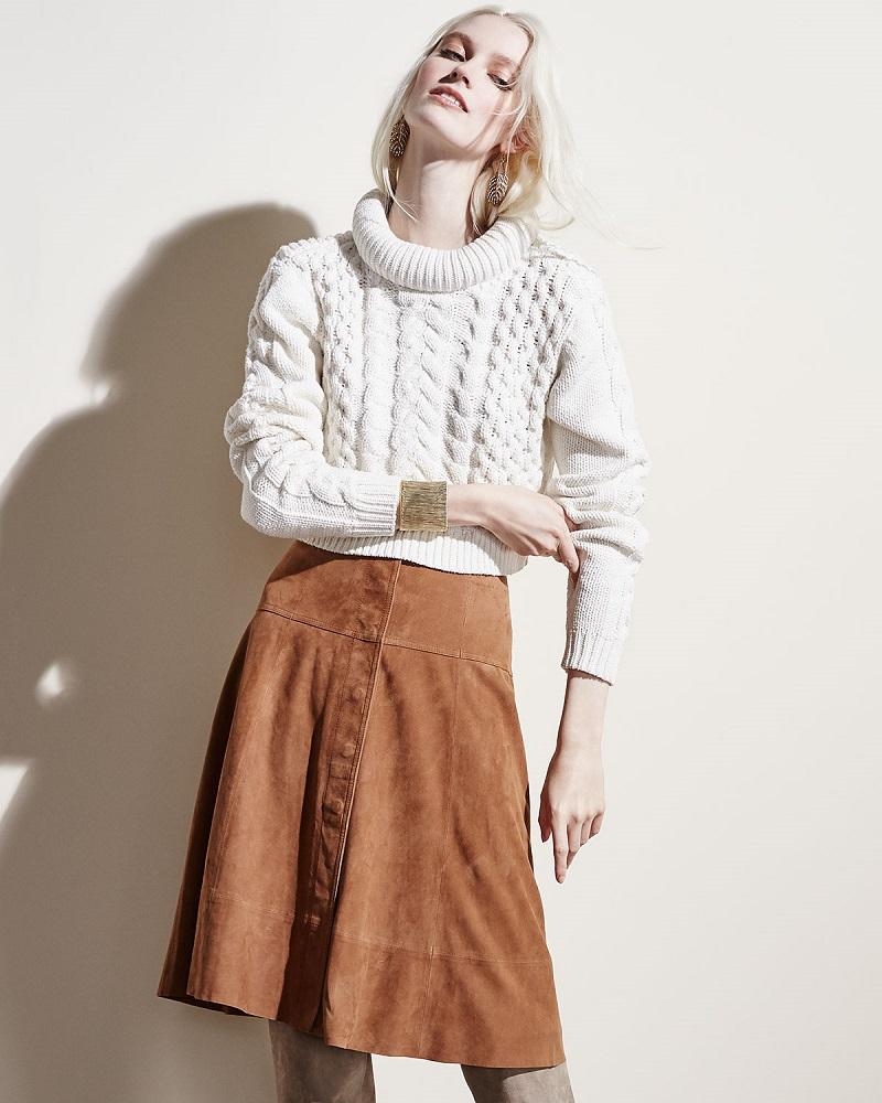 Tibi High-Low Loose Sweater