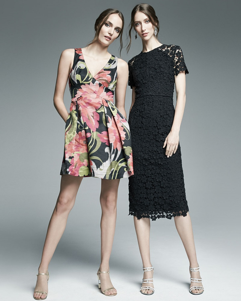 Trina Turk Floral-Print Party Dress