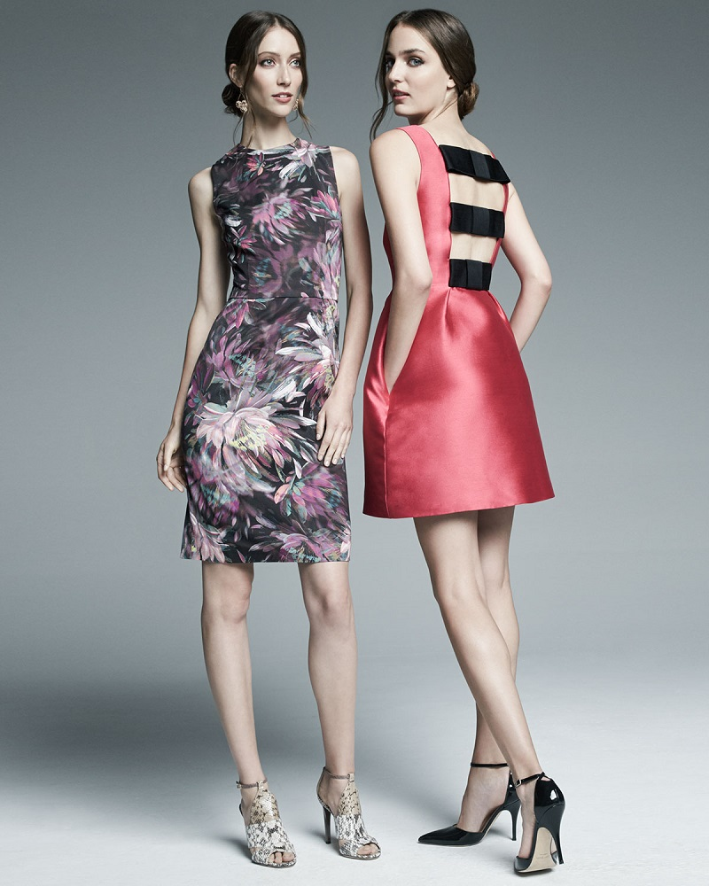 Trina Turk Sleeveless Floral-Print Sheath Dress