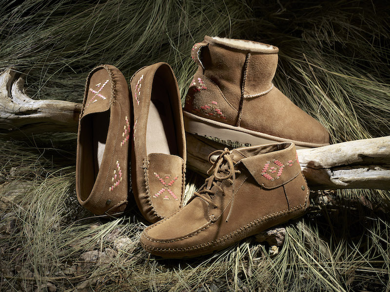 UGG Australia Rustic Weave Collection