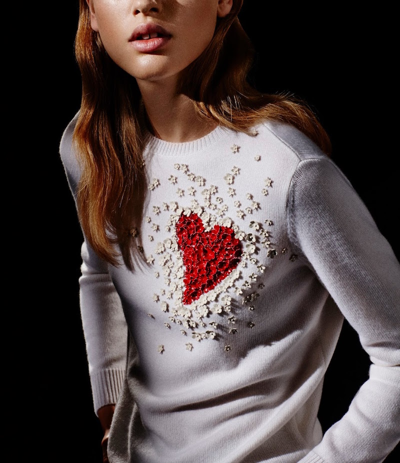 Valentino Appliquéd Sweater