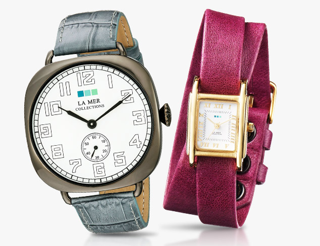 Watches feat. La Mer Collections at MYHABIT