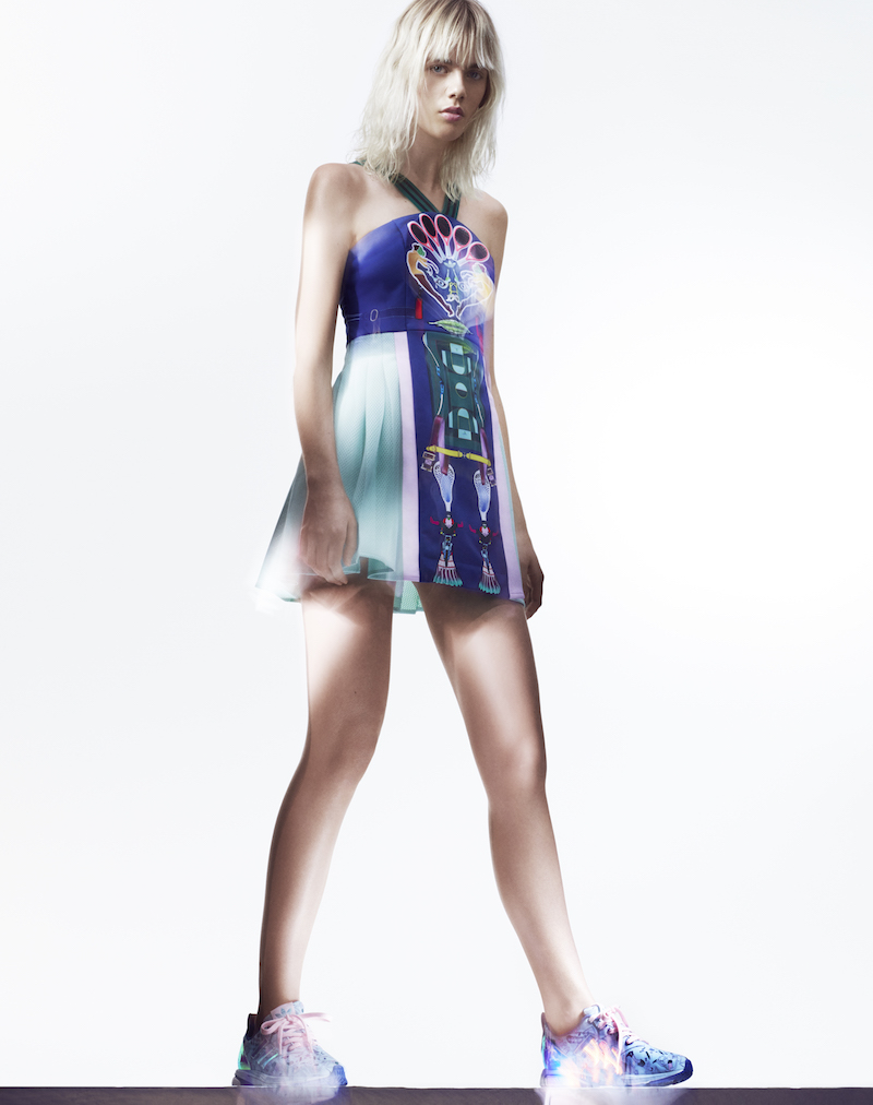 adidas Originals by Mary Katrantzou Sleeveless MK Dress