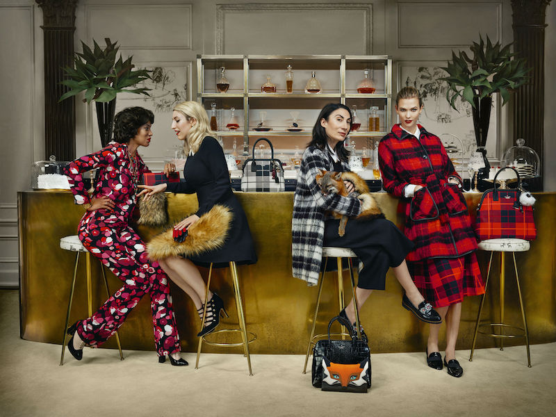 kate spade new york ‏Fall 2015 Campaign feat. Karlie Kloss_2