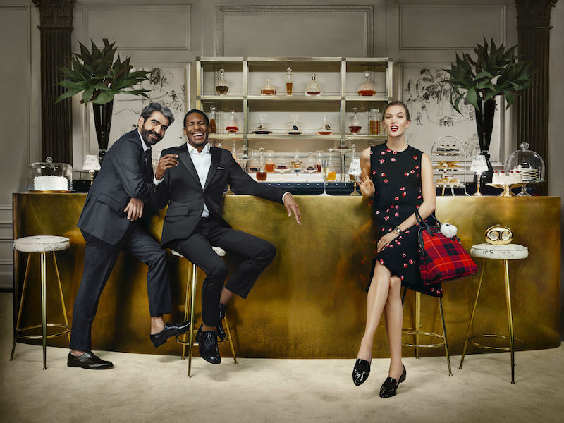 kate spade new york ‏Fall 2015 Campaign feat. Karlie Kloss_4