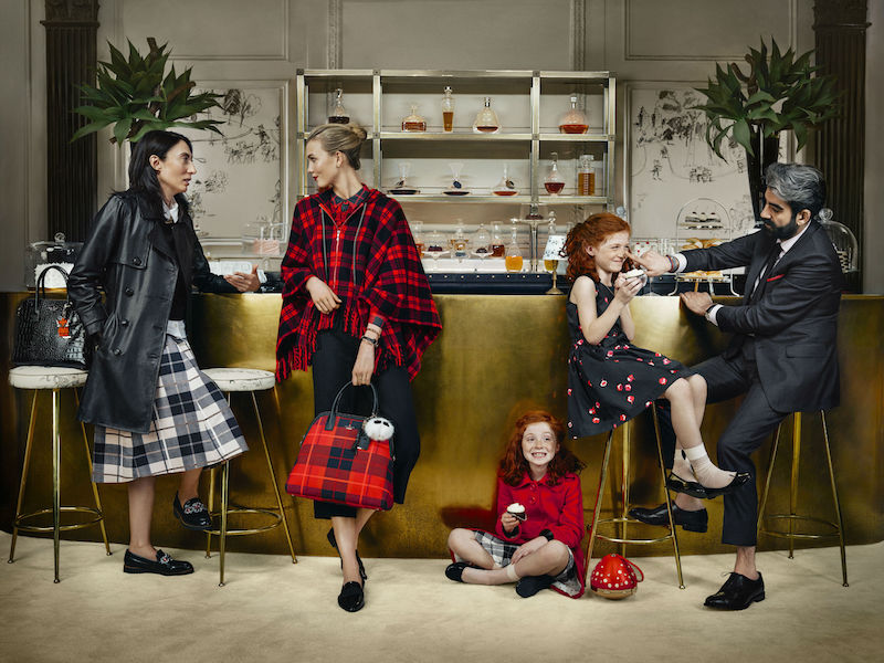 kate spade new york ‏Fall 2015 Campaign feat. Karlie Kloss_5