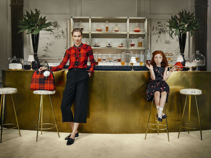 kate spade new york ‏Fall 2015 Campaign feat. Karlie Kloss_6