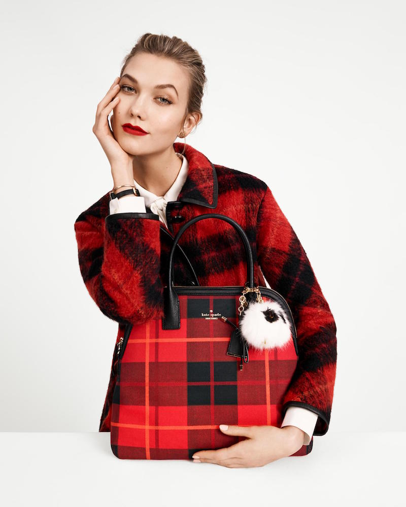 kate spade new york ‏Fall 2015 Campaign feat. Karlie Kloss_8
