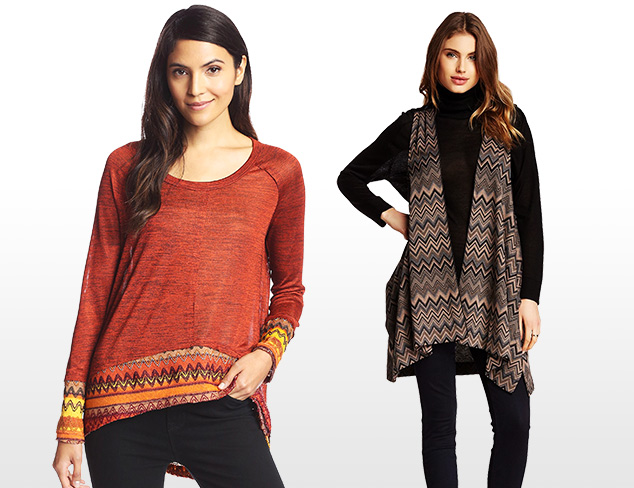$25 & Under Tops & Cardigans by Rain at MYHABIT