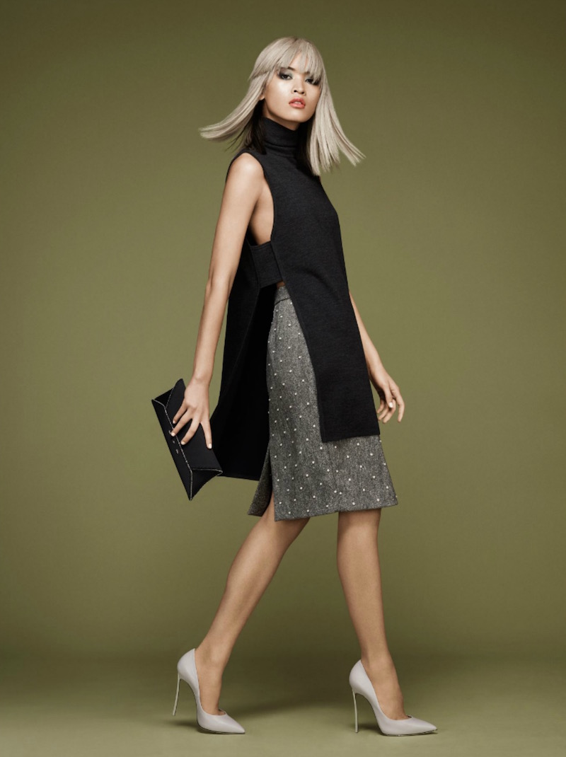 Adam Lippes Double-Faced Wool Turtleneck Tunic