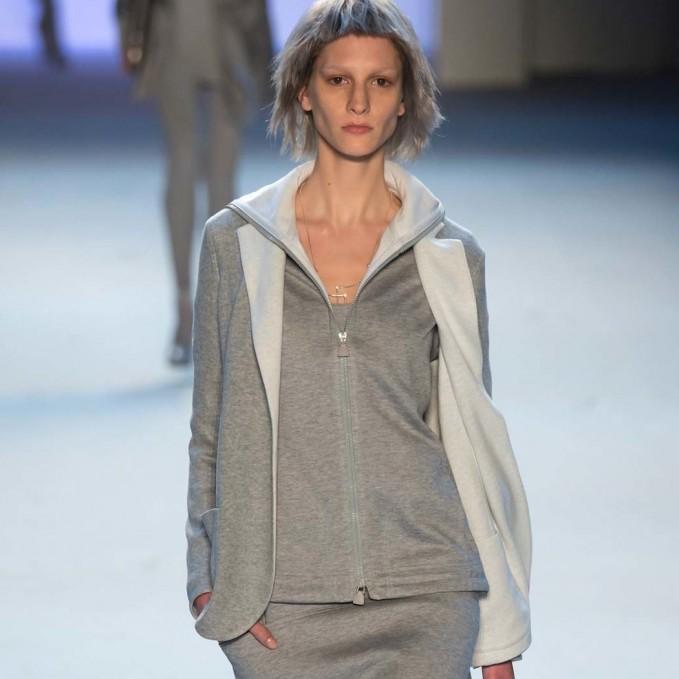 Akris Bicolor Reversible Hooded Sweatshirt