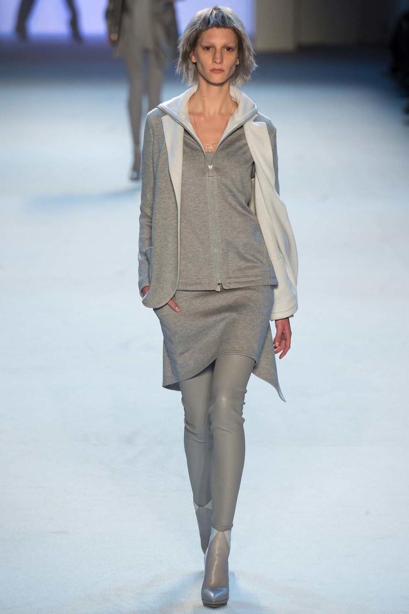 Akris Bicolor Silk Fleece Reversible Jacket