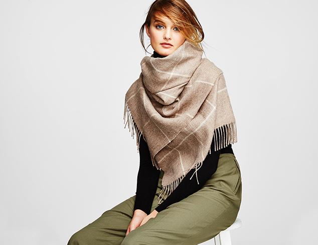 Alicia Adams Alpaca Wraps & Scarves at MYHABIT