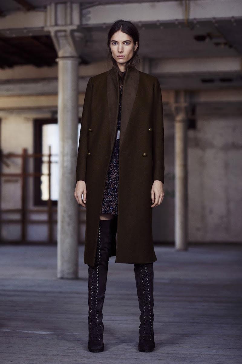 AllSaints Una Coat