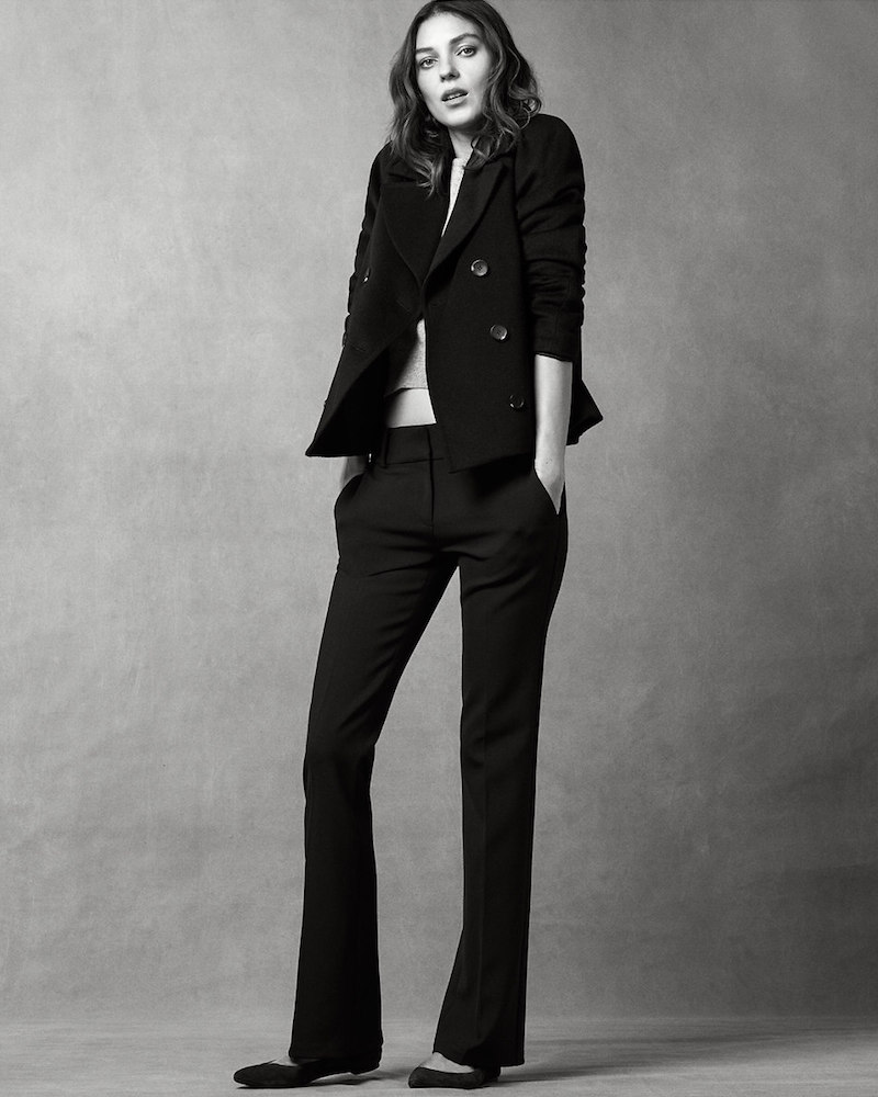 Ann Taylor Devin Refined Flare Trousers