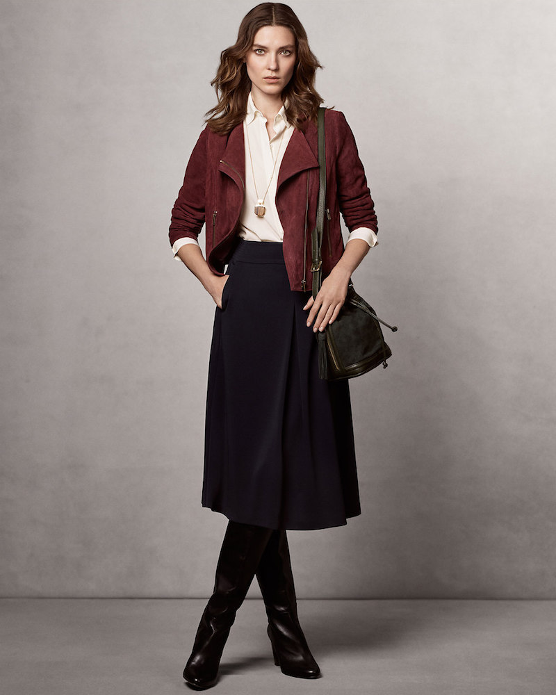 Ann Taylor Lookbook The Icons For Fall 2015 Nawo