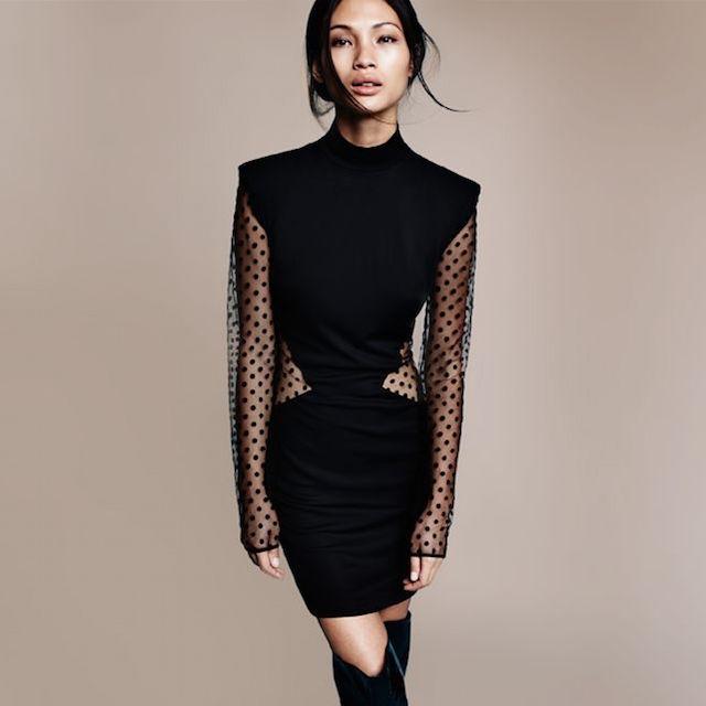 Balmain Crepe Dress