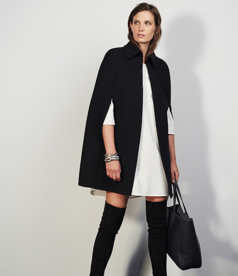 Barneys New York Cape Coat