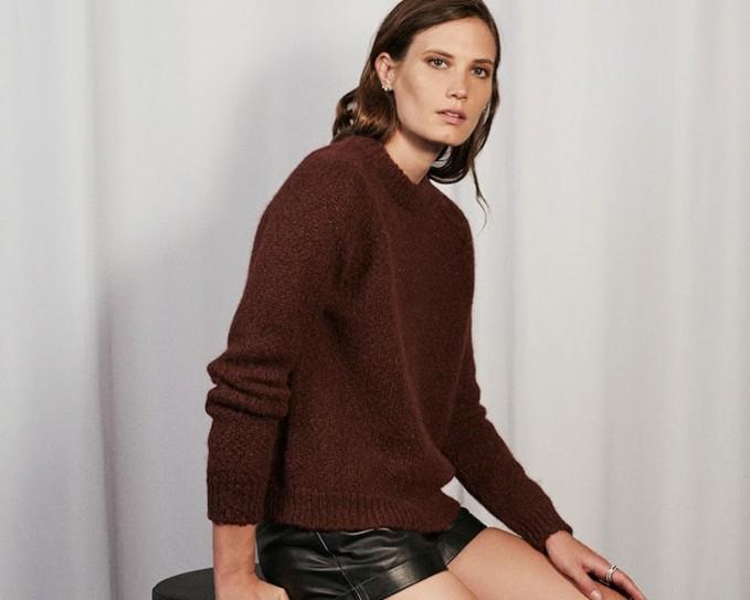 Barneys New York Chunky-Knit Sweater