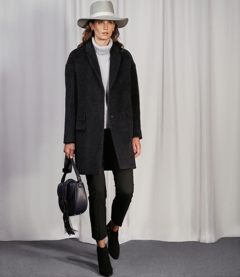 Barneys New York Shaggy Coat