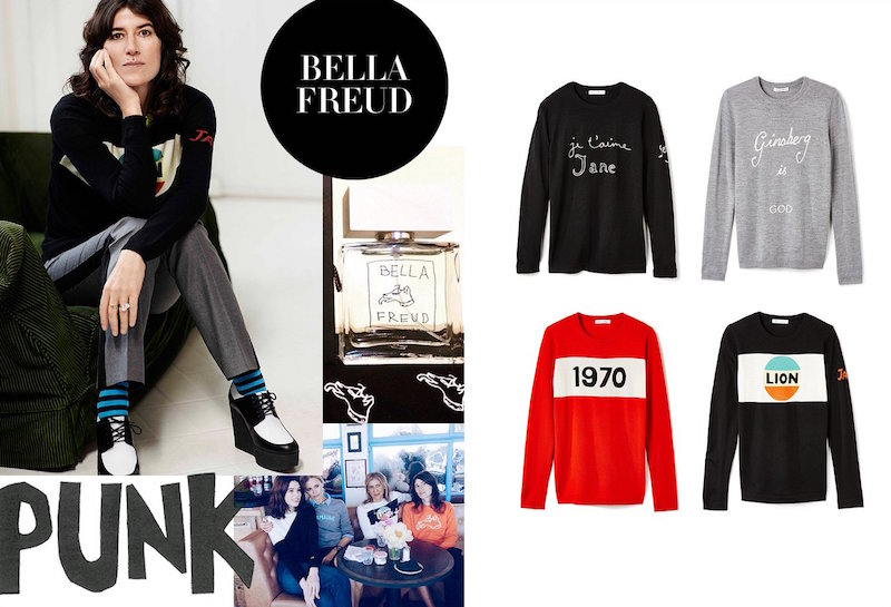 Bella Freud Fall 2015 at SHOPBOP
