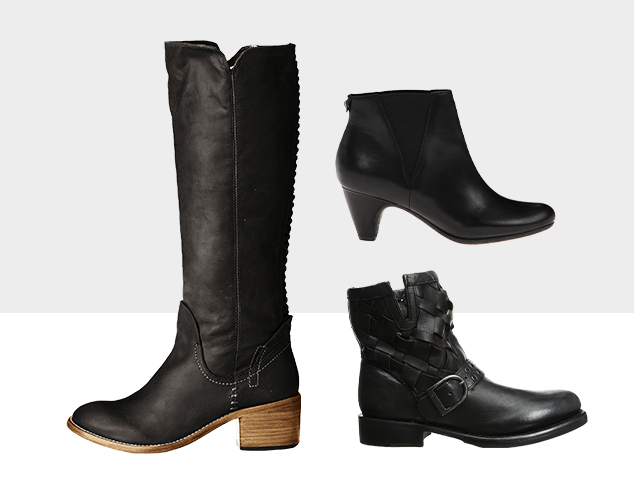 Best in Black Shoes at MYHABIT