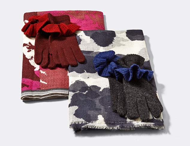 Carolina Amato Gloves & Scarves at MYHABIT