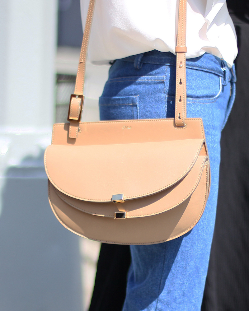 Chloé Georgia Mini Leather Cross-body Bag